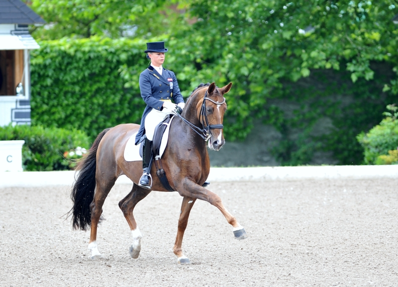 Isabell Werth wins the Word Cup presented by the Gaston & Kathrin Glock family